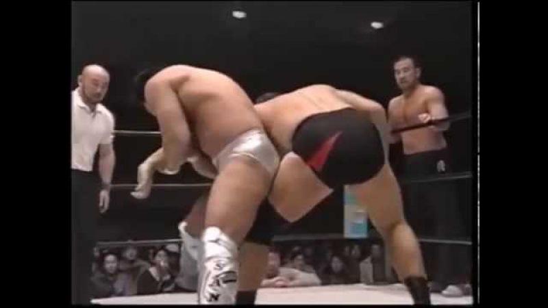 【UWF VS NJPW】nobuhiko takadayuhi sano VS shiro koshinakamichiyoshi ohara