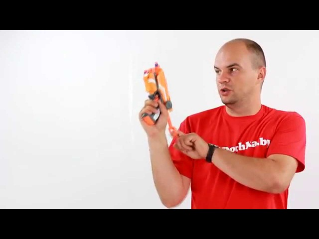 Нерф Элит Файрстрайк с лазерным прицелом 53378 Hasbro