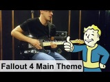 Fallout 4 OST Main Theme with Guitar (Inon Zur) Cover Playthrough