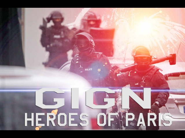 GIGN GIPN BRI RAID Heroes of Paris