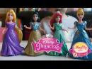 Принцессы Диснея мини куклы обзор - Disney Princess MagiClip small dolls - Diznijeve Princeze