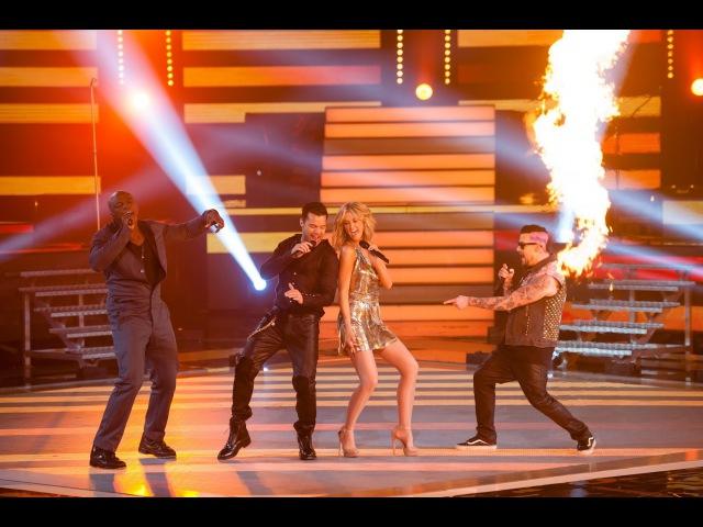 The Coaches Perform Living La Vida Loca: The Voice Australia Season 2