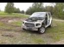 Buggy Mercedes ML 2.7 CDI W163 offroad drift w piachu