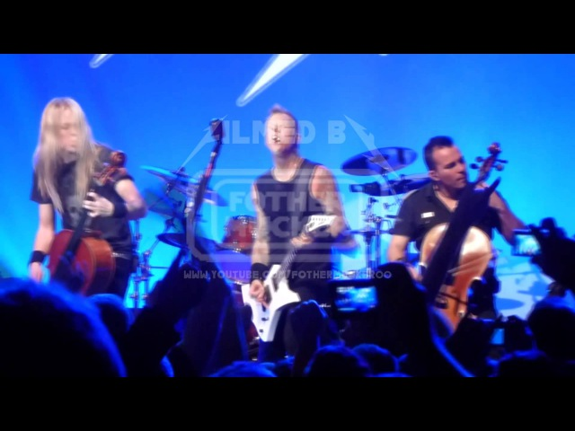 Metallica with Apocalyptica No leaf clover LIVE San Francisco, USA 2011-12-05 1080p FULL HD