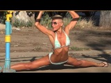 Street Workout in Ukraine - Female Fitness Motivation.