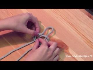 Как завязать науз Вий Мёртвый узел