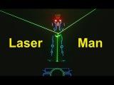 Laser Man Show Laser Fight Tron Dance Show India Skeleton Dance Crew
