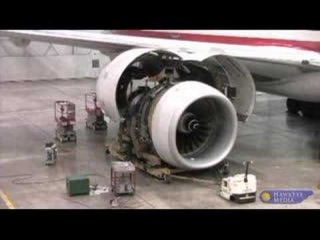 Boeing 777 2 Engine Change