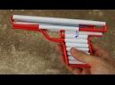 как сделать простой бумажный пистолет