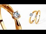 КОЛЬЦО C БРИЛЛИАНТОМ. КАК ИЗГОТОВИТЬ ЗОЛОТОЕ КОЛЬЦО С БРИЛЛИАНТОМ. DIY - white gold diamond ring.