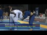 BJJ Scout Match Studies - Murilo Santana vs Keenan Cornelius