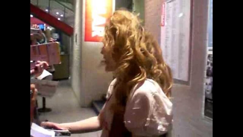 Gillian Anderson - Donmar theatre - June 27th 2009