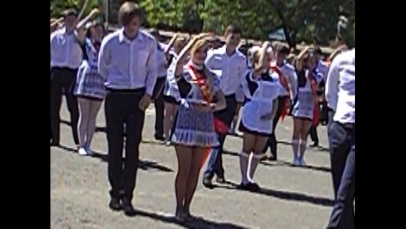 Красивый танец кукол на последнем звонке 11 Б 45 школа