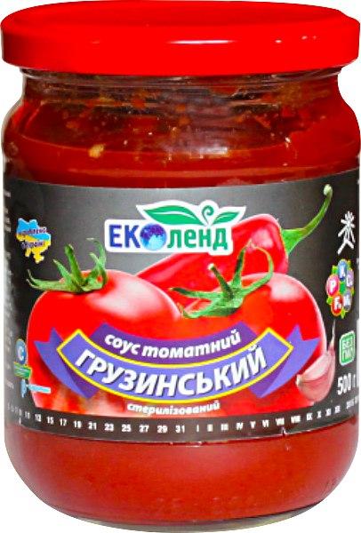 Соус томатний Грузинський, Еколенд, 480 г