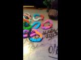 Коллекция браслетов из резинок Rainbow Loom