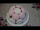 Торт Муравейник без выпечки в зефире за 15 минут