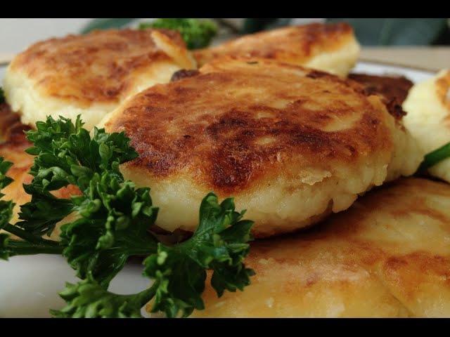 Зразы Очень Нежные и Вкусные!   Stuffed Potato Rissoles, English Subtitles