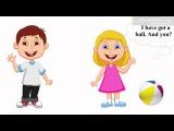 Урок 7 Англйська мова 1 клас. My Toys. Colours. Частина 5.
