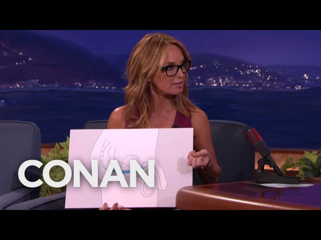 Dr. Jennifer Berman Teaches Conan Male Kegel Exercises - CONAN on TBS