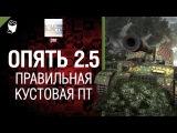 Опять 2.5 - Правильная кустовая ПТ - от jmr World of Tanks
