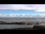 Релакс, медитация, шум волн, Финский залив, без музыки, лето , волны, камни