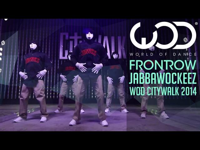 Jabbawockeez World of Dance Live FRONTROW Citywalk 2014 WODLIVE '14