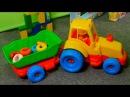 Развивающие видео для детей. Пирамидки, башенки, машинки все серии подряд