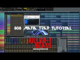 HARD TRAP 808 MAFIA TYPE BEAT TUTORIAL PROD. BY KILLER-T BEATS