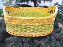 ▬► Плетение из газет узора Ромбики