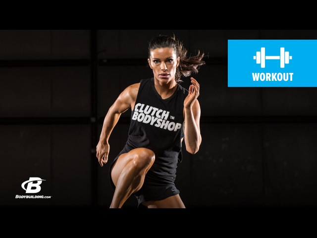 Day 2 | At Home Cardio and Core Workout | Clutch Life Ashley Conrads 247 Fitness Trainer