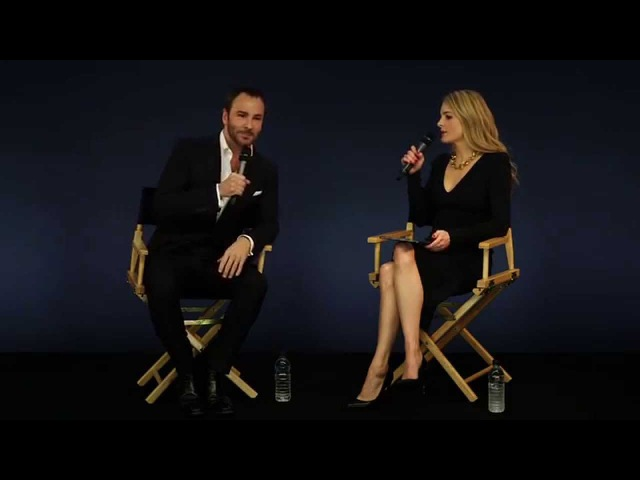 Tom Ford Interview with Lady Kinvara Balfour