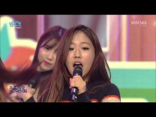 151115 Lovelyz 러블리즈 Ah Choo SBS Inkigayo