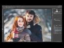 Обработка зимней фотографии в LIGHTROOM PHOTOSHOP