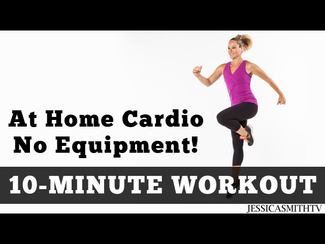 The Best 10 Minute At Home Cardio Workout No Equipment