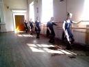 Урок классического танца - Ронд де жамб (Rond de jambe par terre) №1