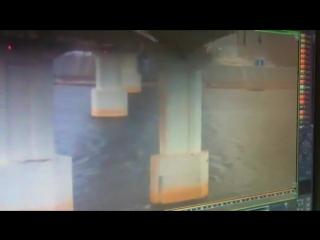 ДТП, Мамадыш - фура с моста вылетела. (08.10.2015)