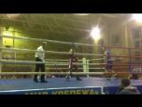 Мохаммад Реза Назари. Бой на турнире по боксу