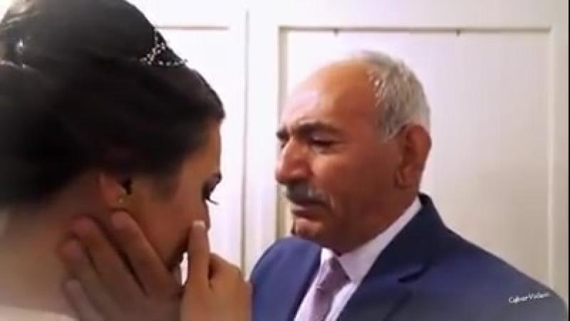 Babadan Kizina duygusal veda konusmasi