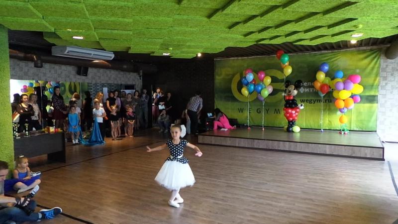 Финал WeDance Kids 2015 Solo 5 7 Танец куклы Фролова Полина тренируется самостоятельно WeGym Синица