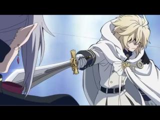 Character introduction by Shinoa   Mikaela Hyakuya