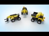LEGO CREATOR СТРОИТЕЛЬНАЯ ТЕХНИКА 31041