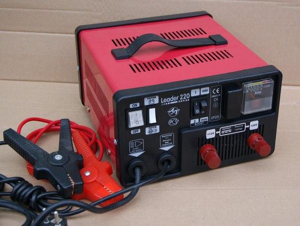 параметров зарядного тока