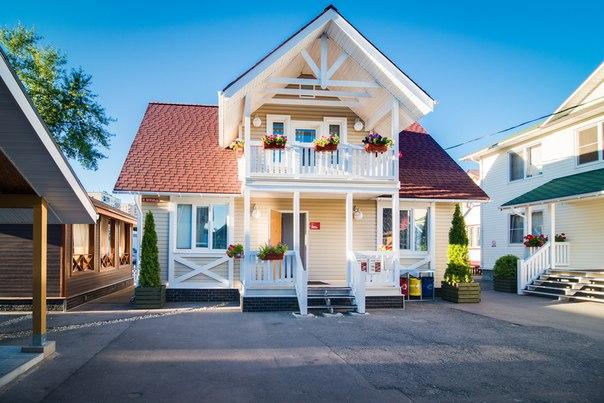 Выставка домов терем фото