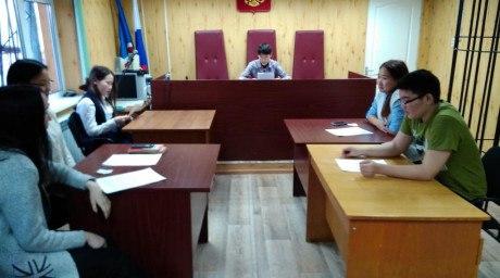 Жиганские учащиеся приняли участие в игре-инсценировке по уголовному процессу