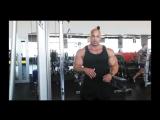 Мастер класс Victor Martinez Тренировка трицепса
