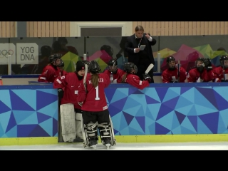 Ice Hockey - -Womens Preliminaries - SWE vs SUI _ -Lillehammer 2016 -Youth Olympic Games-