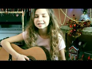 БУДИЛЬНИК (Егор Крид COVER),девушка с красивым голосом,круто спела,шикарный голос,милая девушка играет на гитаре