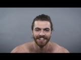 100 лет мужские причёски за 1 минуту