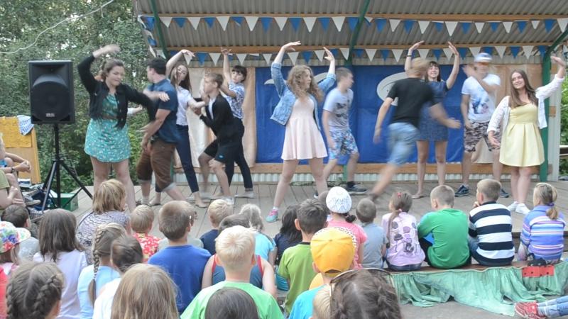 Танец кукол Чайка 4 смена 2015 год