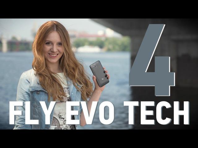 Fly IQ4514 EVO Tech 4 обзор смартфона